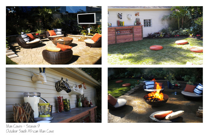Diy Backyard Man Cave : outdoor kitchen man cave season 9 for this episode we built an outdoor