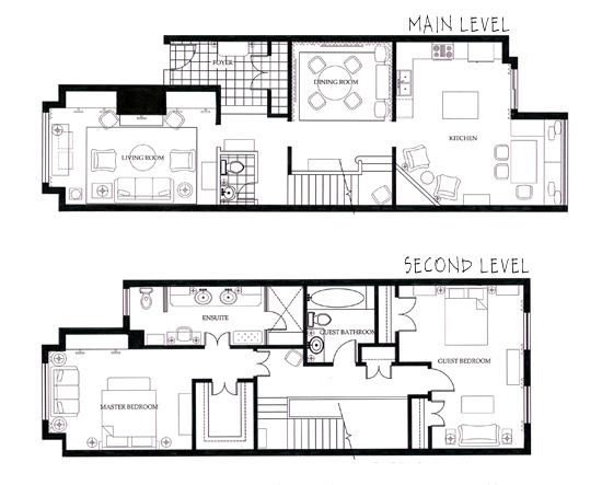 Interior design technical lesley myrick portfolio for Interior design plan drawings